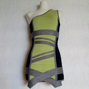 WOW Couture one shoulder Bandage Dress